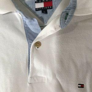 Tommy Hilfiger Shirts - Tommy Hilfiger Vintage Men's Polo Shirt Size XL